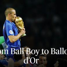 Фабио Каннаваро: от подающего мячи до Золотого мяча. Часть 1