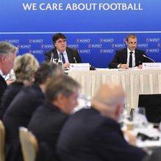 Как УЕФА УЕЛ почтенную публику