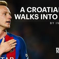 Хорватский парень входит в бар...