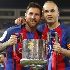 Церемония награждения кубка Испании 2016/17