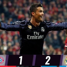 Почти «дубль» Видаля плюс геройство Нойера на «дубль» Роналду = «Бавария» vs «Реал» 1:2