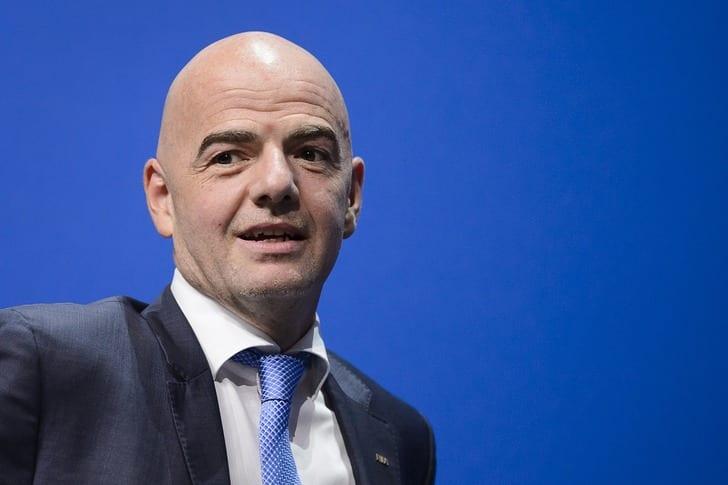 Президент ФИФА Джанни Инфантино / Фото: Getty Images