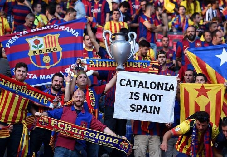 "Болельщики ""Барселоны"", Getty Images"