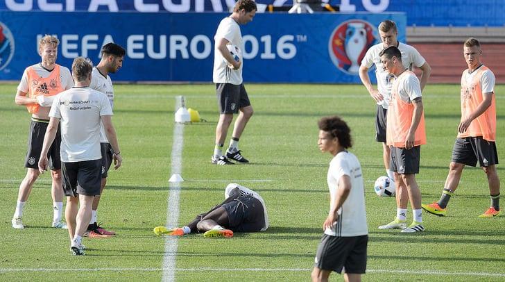 Антонио Рюдигер травмировался во время тренировки / dfb.de