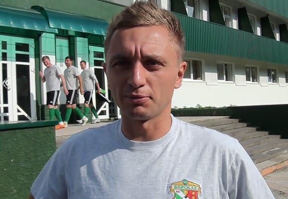 """Олег Голодюк, фото с официального сайта """"Ворсклы"""""""