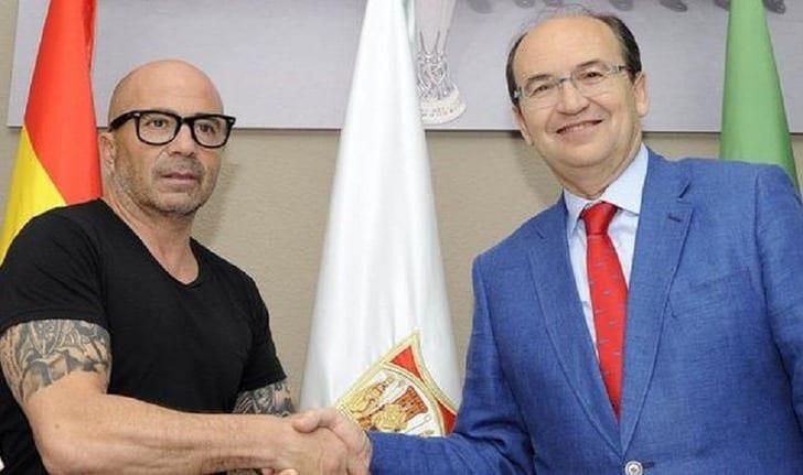 Сампаоли (слева) sevillafc.es