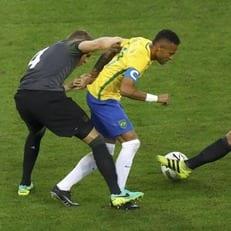 Сборная Бразилии - чемпион Олимпийского футбольного турнира