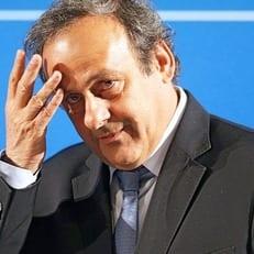 Платини официально объявил об уходе с поста президента УЕФА
