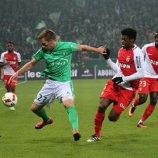 """""""Монако"""" и """"Сент-Этьен"""" поделили очки, а также другие матчи Лиги 1"""