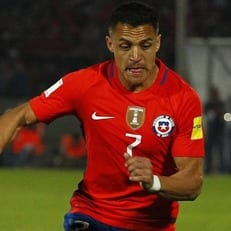 Алексис Санчес не сыграет против Колумбии