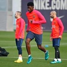 """Умтити восстановился после травмы и может сыграть с """"Реал Мадридом"""""""