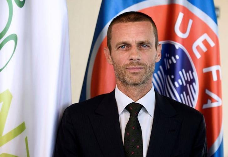 Александер Чеферин; фото: AFP Photo / Юре Маковец
