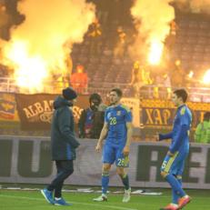 Украина получила наказание от ФИФА за матч с Сербией