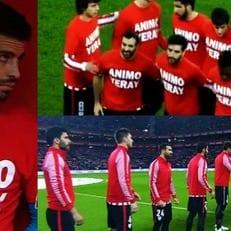 """Игроки """"Атлетика"""" и """"Барселоны"""" поддержали Ерая Альвареса"""