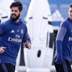 Хамес Родригес и Иско вернулись к тренировкам