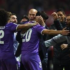 """""""Реал Мадрид"""" вырвал ничью у """"Севильи"""" и продлил беспроигрышную серию до 40 матчей"""
