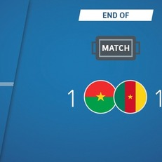 Буркина-Фасо и Камерун поделили очки