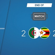 Алжир не сумел переиграть Зимбабве