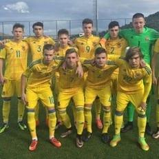 Украина U-16 уступила Греции
