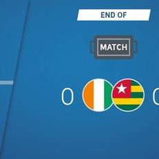 Кот-д'Ивуар и Того победителя не выявили