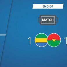 Габон не сумел переиграть Буркина-Фасо