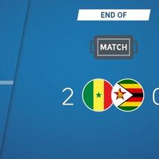 Сенегал побеждает Зимбабве
