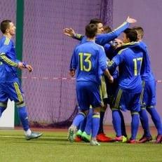 Украина U-17 разгромила Словакию