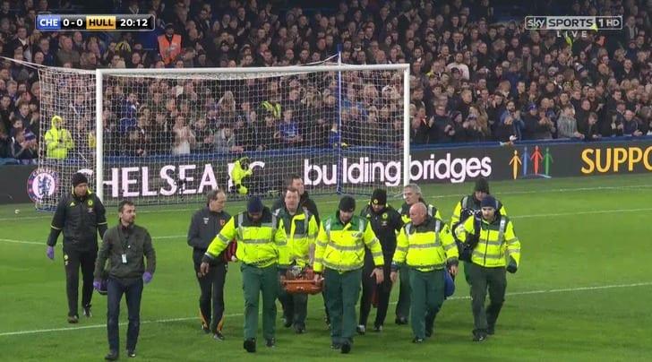 Футболист получил перелом черепа вматче чемпионата Британии