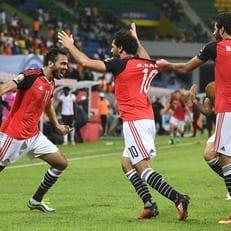 КАН-2017. Египет минимально обыграл Гану и с первого места пробился в плей-офф