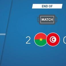 Буркина-Фасо переиграл Тунис