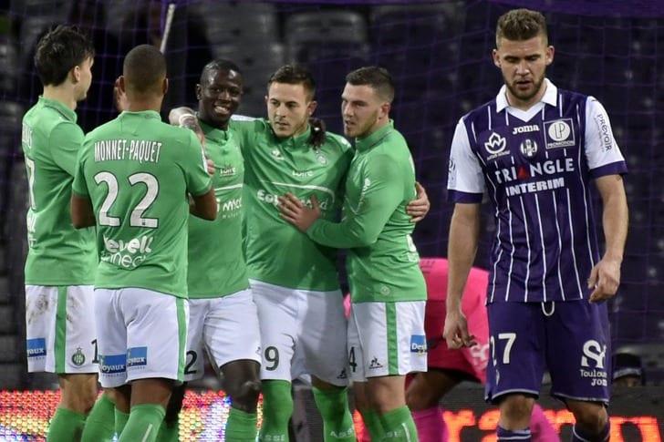 «Сент-Этьен» восновной массе победил «Тулузу»