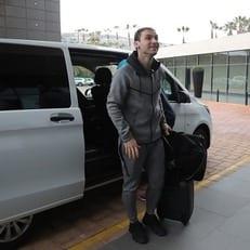 """Иванович прибыл в Испанию и скоро начнет тренировки с """"Зенитом"""""""