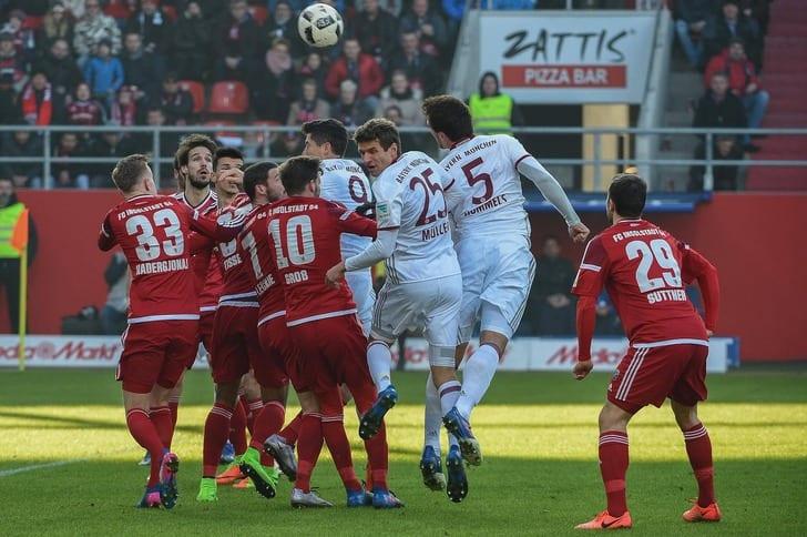 «Бавария» дожала «Ингольштадт» иоторвалась от«Ред Булла»