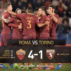 """Рома"" разгромила ""Торино"""