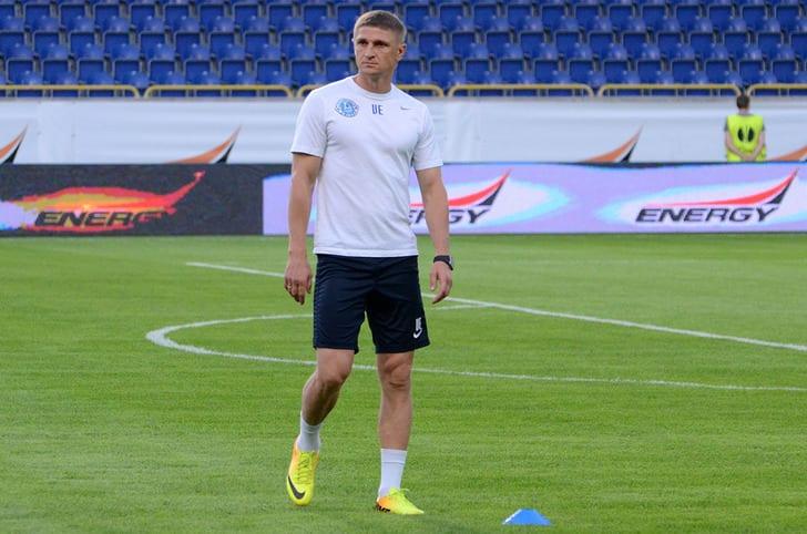 Езерский— главный тренер сборной государства Украины U-19