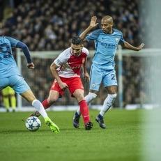 """""""Ман Сити"""" и """"Монако"""" установили рекорд результативности в первом матче плей-офф ЛЧ"""