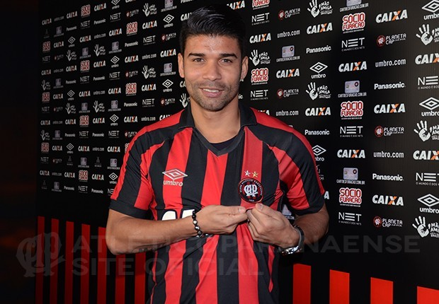 Эдуардо подписал договор с«Атлетико Паранаэнсе»