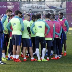 """Заявка """"Барселоны"""" на игру против мадридского """"Атлетико"""""""