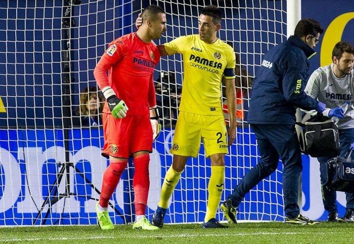 Вратарь «Вильярреала» Асенхо получил травму ипропустит неменее 6-ти месяцев