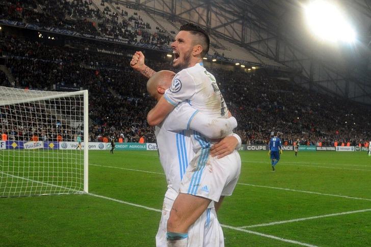 «Монако» вдополнительное время вырвал победу у«Марселя» вКубке Франции