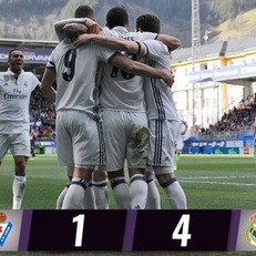 """Реал Мадрид"" одолел ""Эйбар"""