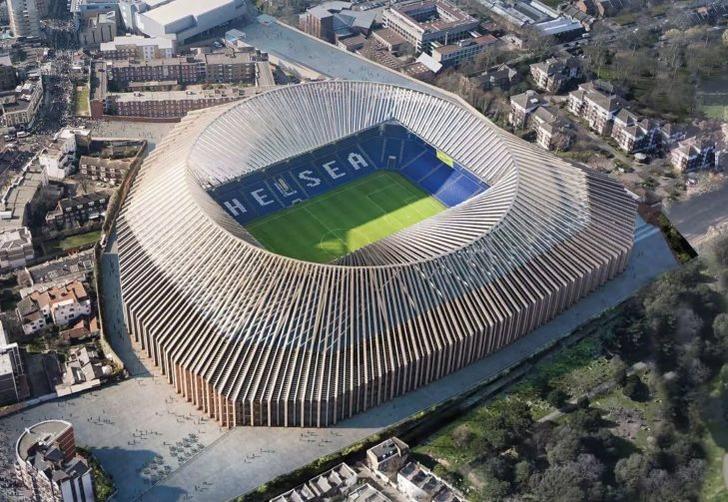 Мэр Лондона одобрил реконструкцию стадиона «Челси»