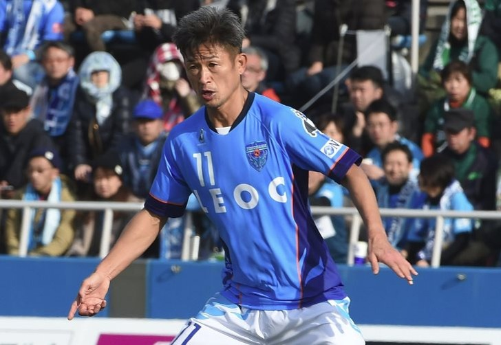 Футбольный старичок: Миура стал самым возрастным игроком вмире
