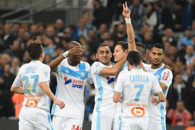 «Марсель» разгромила «Анже» врамках Лиги 1