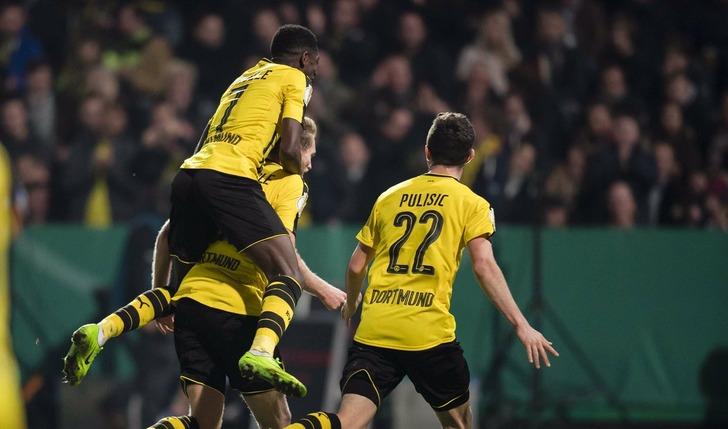 «Боруссия» (Дортмунд) одолела «Лотте» в ¼ финала Кубка Германии пофутболу