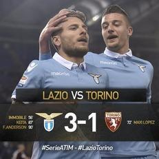 """""""Лацио"""" одолел """"Торино"""""""