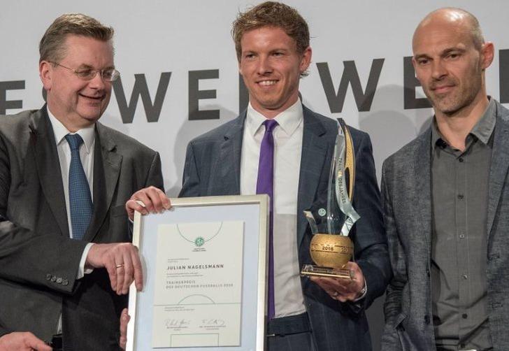Нагельсманн признан лучшим тренером Германии вследующем году