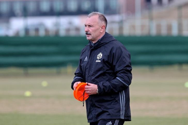 Криушенко возглавил футбольную сборную республики Белоруссии