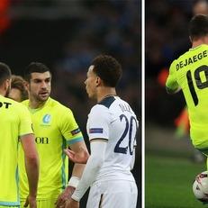 Алли дисквалифицирован на 3 матча в еврокубках