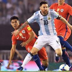 Аргентина минимально обыграла Чили